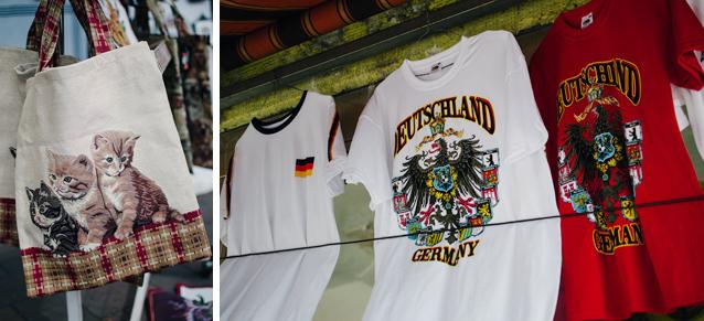 Katzen-, Deutschland- und auch Brustfans kommen in Rüdesheim am Rhein voll auf ihre Kosten.